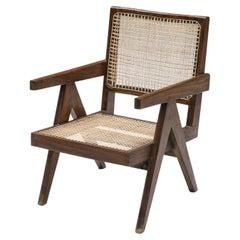 Jeanneret Easy Chairs 1965-1967, Mid-Century Modern Chandigarh, Corbusier