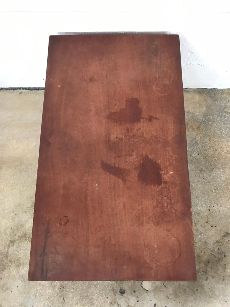 Jeanneret Style Table For Sale 1