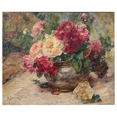 "Jeannin Georges ""Vase of Roses"""