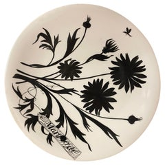 Jeannine Hétreau, Plate Decorated with Stylized Marguerite, for Primavera
