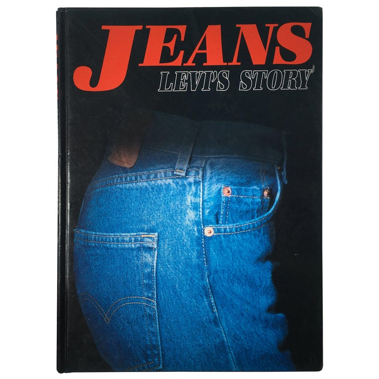 Jeans, Levi's Story 1st Edition 1990 For Sale