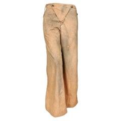 Jean's Paul Gaultier Distressed Finish Cotton Sailor Pants