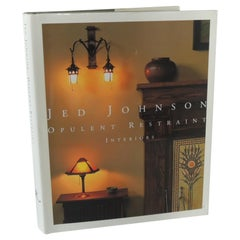 "Jed Johnson ""Opulent Restraint"" Hardcover Decorating Book"