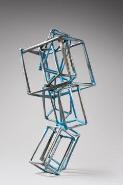 Jedd Novatt /  LX sculpture / painted steel
