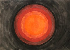 Chatra Chakra Abstract Biomorphic Modern Canadian Indian Color Field Painting