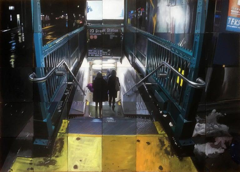 Jeff Cohen Landscape Painting - 23rd East Station