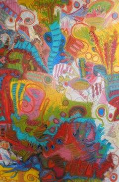 Desert Jambalaya, Painting, Oil on Canvas