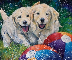 Double Trouble, Oil Painting