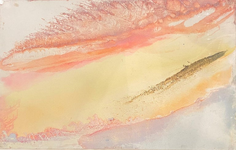 Wave Cry #16  - Painting by Jeff Hoare