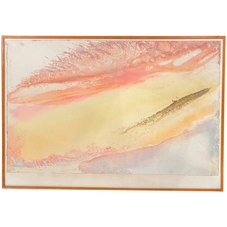 Jeff Hoare Abstract Painting - Wave Cry #16