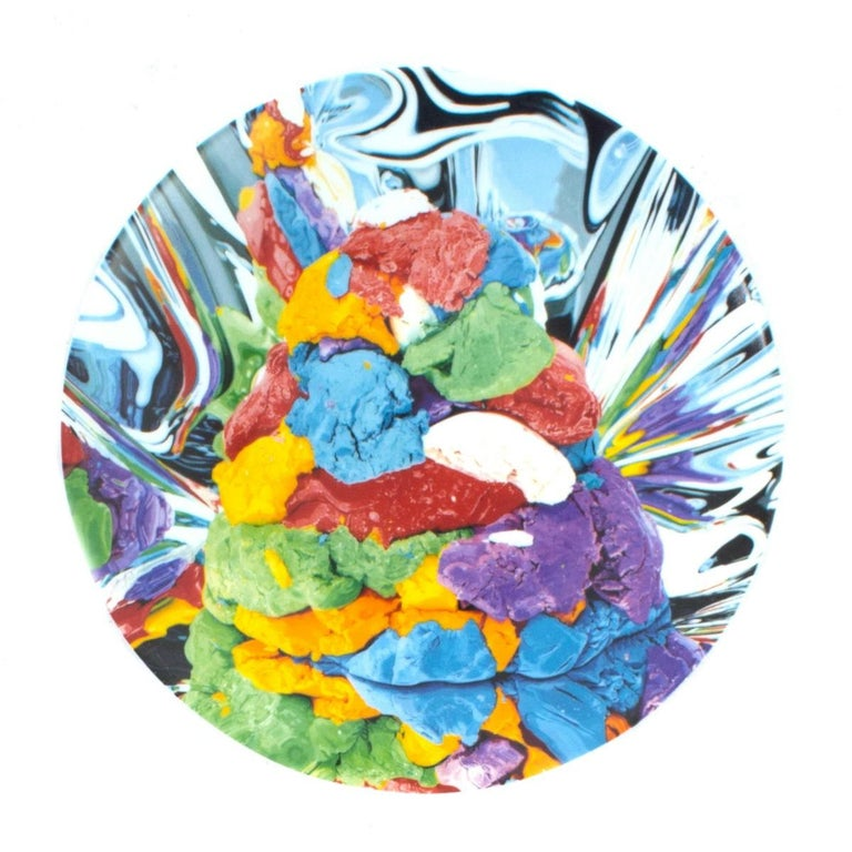 Jeff Koons Limited Edition Play-Doh Plate for Bernardaud For Sale