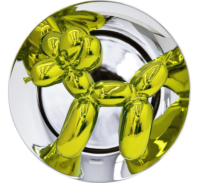 Balloon Dog (Yellow) - Mixed Media Art by Jeff Koons