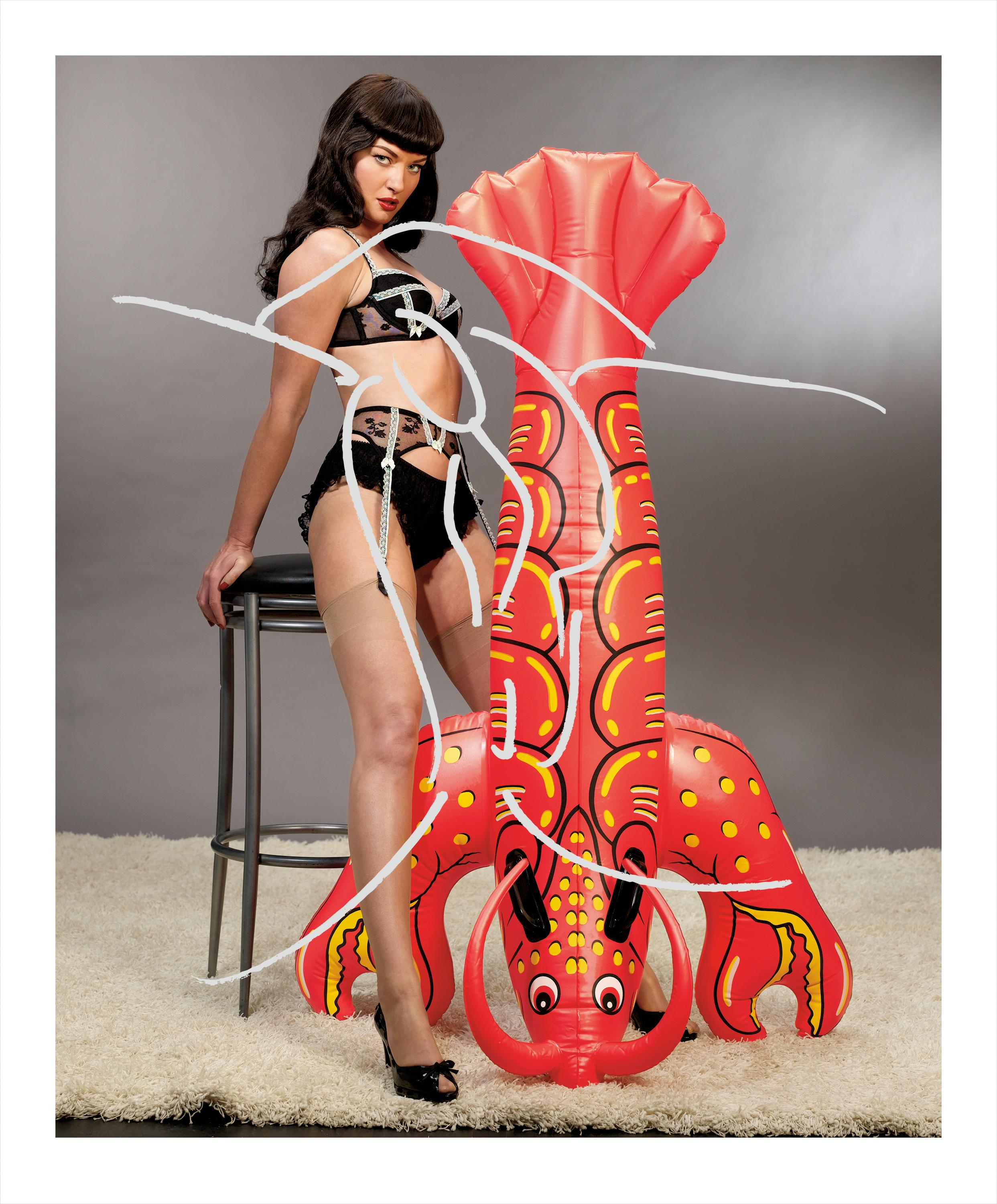 Girl with Lobster