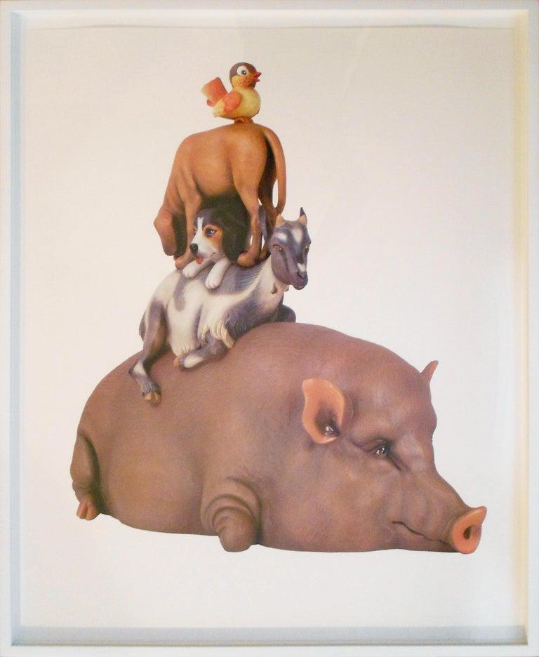 Jeff Koons Figurative Photograph - Stacked