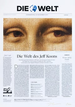 Die Welt (Mona Lisa), Collector's Edition, Contemporary Art, Pop Art