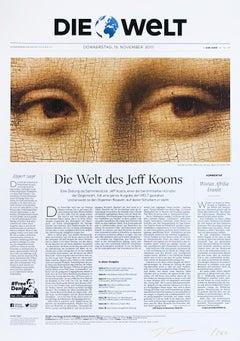 Die Welt (Mona Lisa), Pop Art, Contemporary Art, 21st Century