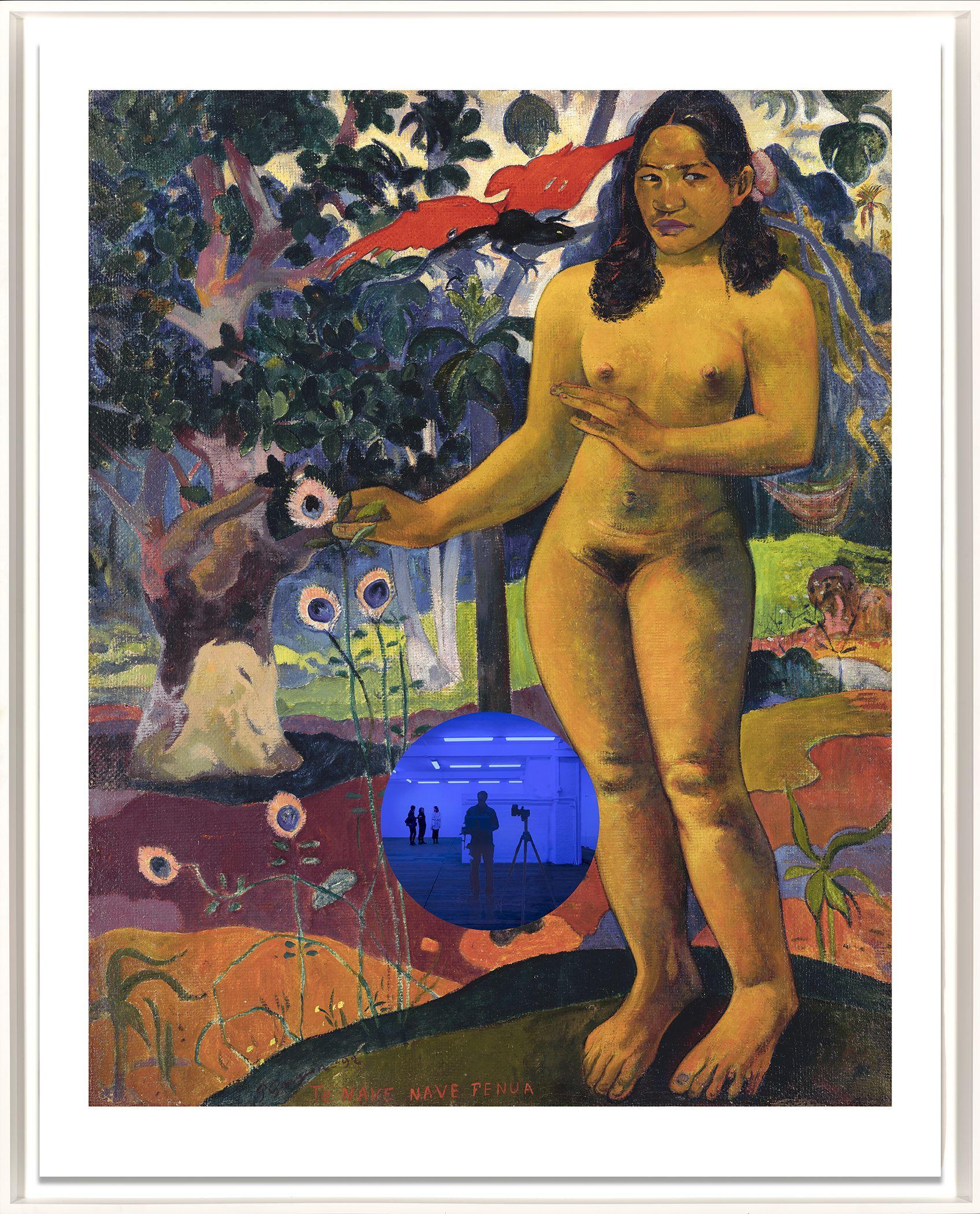 Gazing Ball (Gauguin Delightful Land) Contemporary print by Jeff Koons