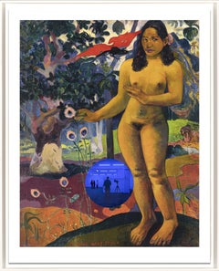 Gazing Ball (Gauguin Delightful Land) Contemporary print by Jeff Koons