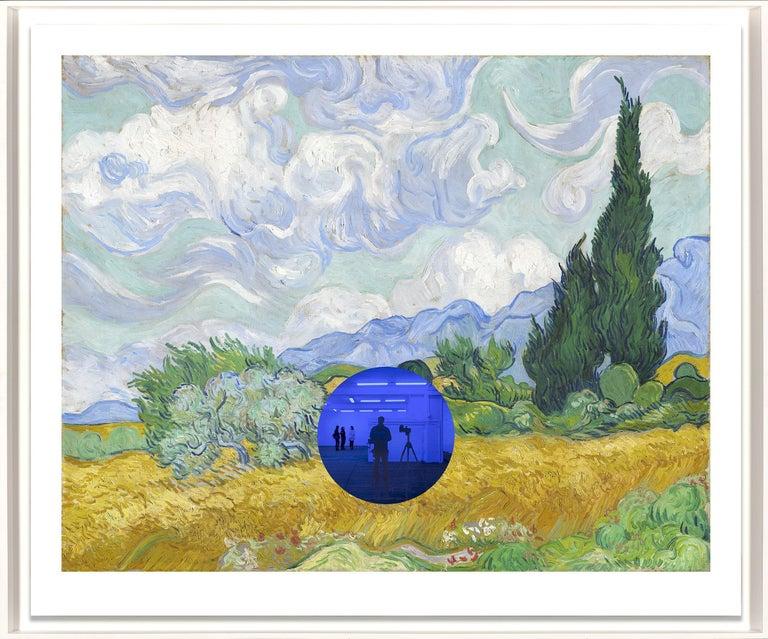 Gazing Ball (van Gogh Wheatfield with Cypresses) Contemporary print, Jeff Koons - Print by Jeff Koons