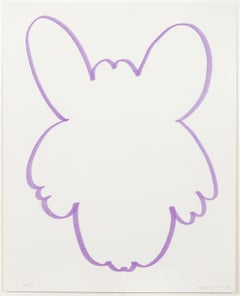 "Jeff Koons ""Purple Fun"""