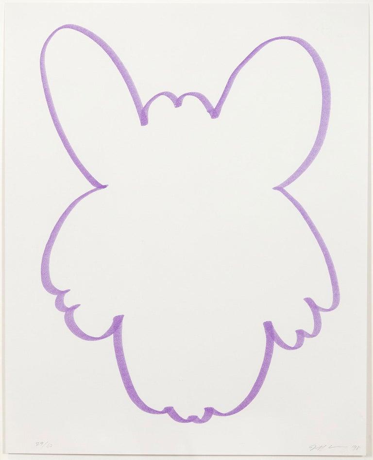 "Jeff Koons ""Purple Fun"" - Print by Jeff Koons"