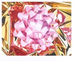 Pink Bow (Celebration Series) by Jeff Koons edition of 50