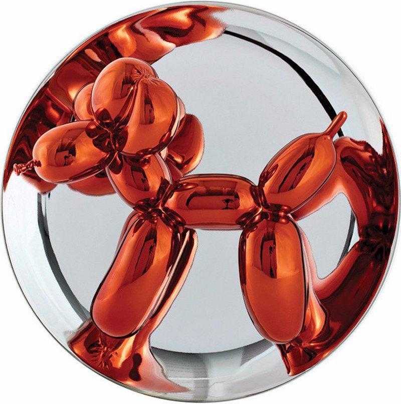 Balloon Dog (Orange)