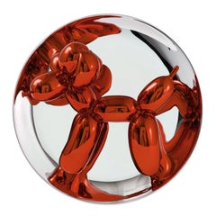 Balloon Dog (Orange) - Jeff Koons, Contemporary, Porcelain, Sculpture, Decor