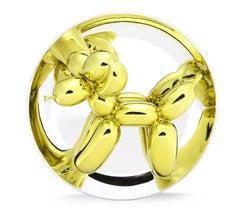 Balloon Dog (Yellow), Ceramic by Jeff Koons