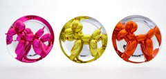 Balloon Dogs (mixed edition numbers) - Jeff Koons, Porcelain, Contemporary, Art