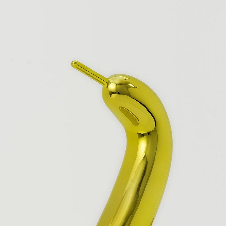 Balloon Swan (Yellow) - Sculpture by Jeff Koons