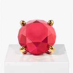 Diamond (Red) - Jeff Koons, Contemporary, Porcelain, Sculpture, Limited Edition