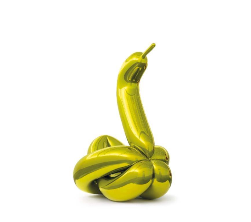 Jeff Koons Balloon Swan (Yellow) 2019