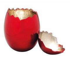 Jeff Koons Cracked Egg (Red), 2008