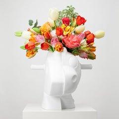 Jeff Koons Split Rocker- Porcelain Sculpture