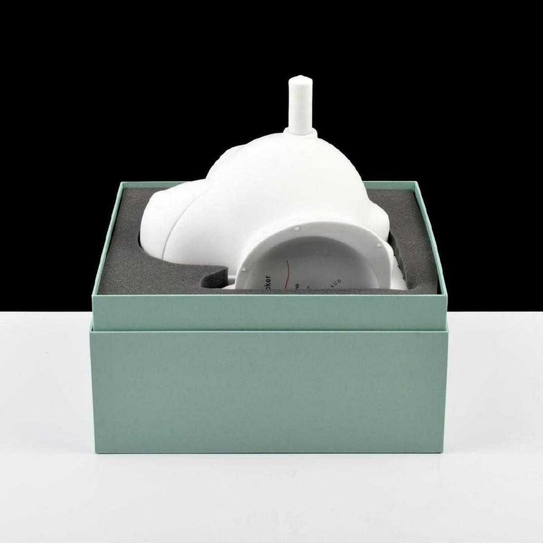 Vase by Jeff Koons (American, b. 1955) for Bernardaud. Vase is accompanied by the original presentation box, booklet and certificate, as well as handling glove. 