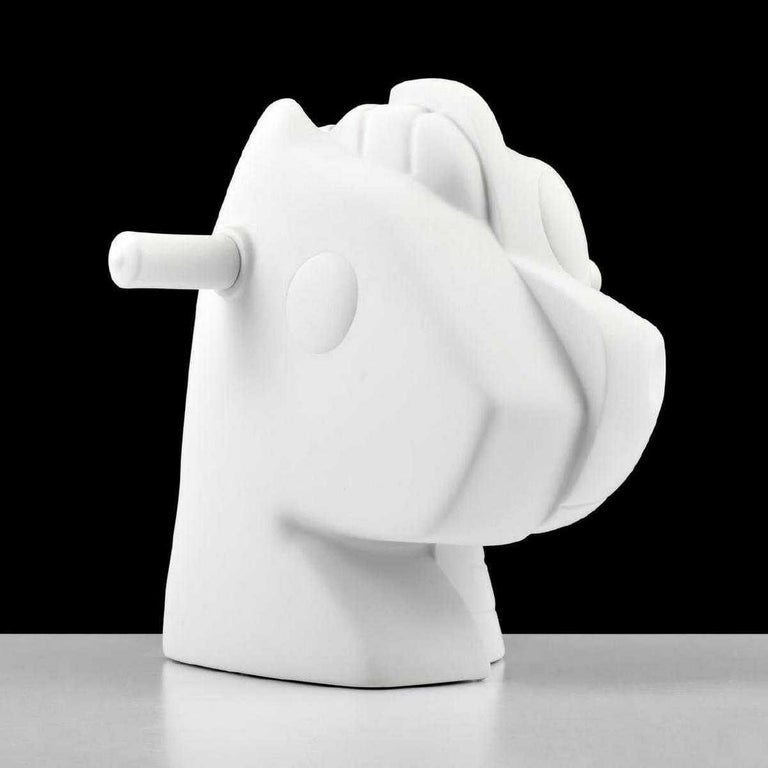 Porcelain Jeff Koons Split-Rocker Vase, Limited Edition For Sale