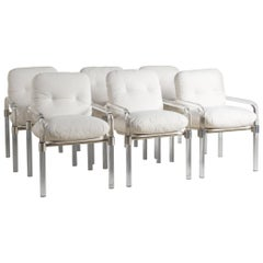 Jeff Messerschmidt Set of 6 Lucite Dining Chairs