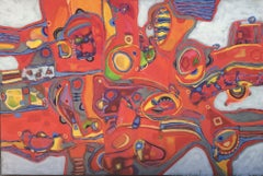 Blanquitos # 28, Painting, Acrylic on Canvas