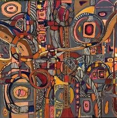 PODEROSO # 16, Painting, Acrylic on Canvas