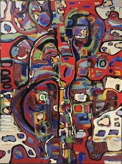 Rayas # 15, Painting, Acrylic on Canvas