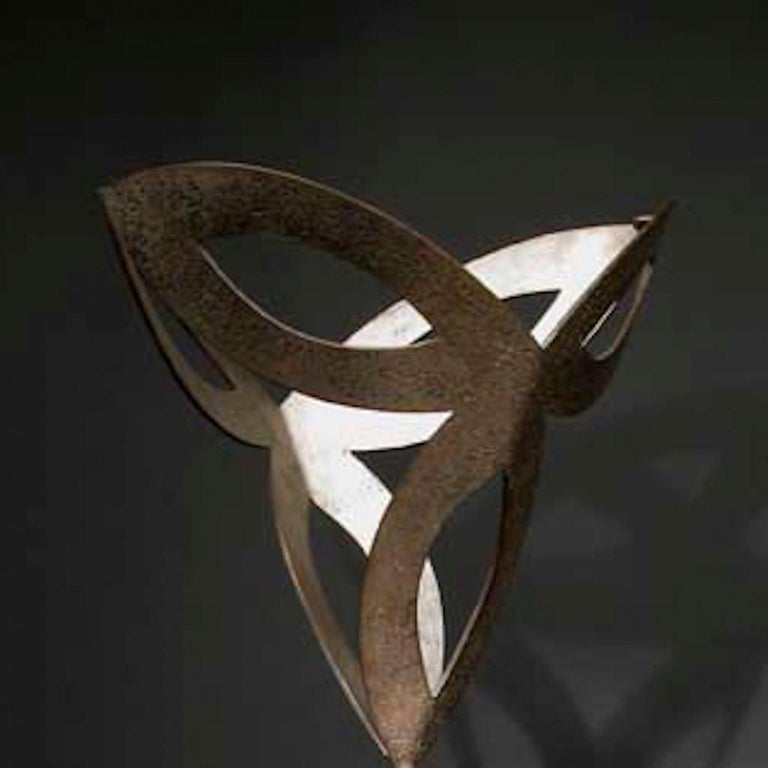 ABOVE & BELOW, abstract sculpture - Contemporary Sculpture by Jeffrey Maron