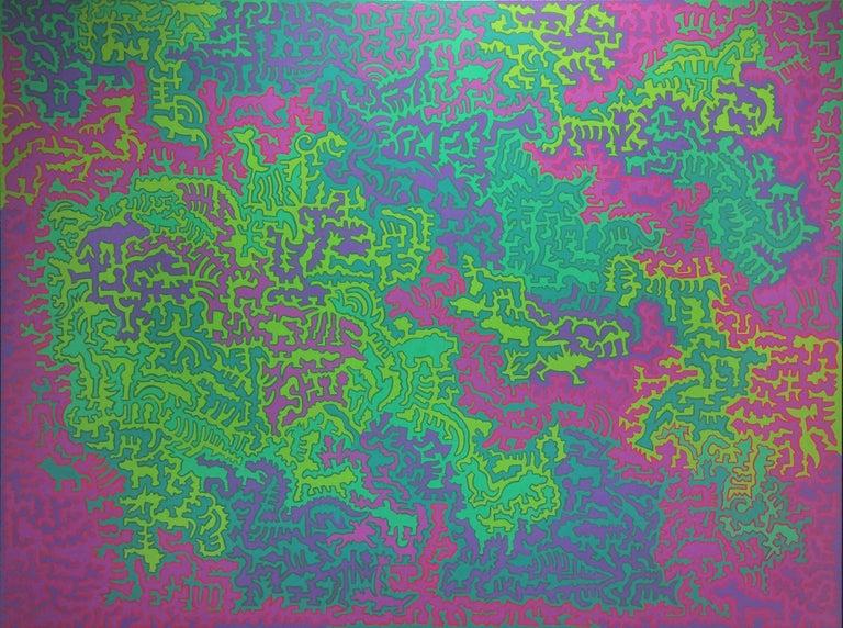 Jeffrey Pitt Abstract Painting - Evolution