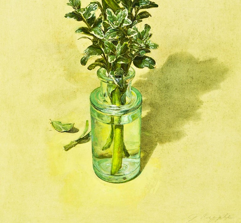 From Anemos - Yellow Still-Life Painting by Jeffrey Ripple