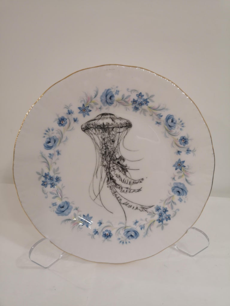 Jellyfish dish In New Condition For Sale In Capri, IT