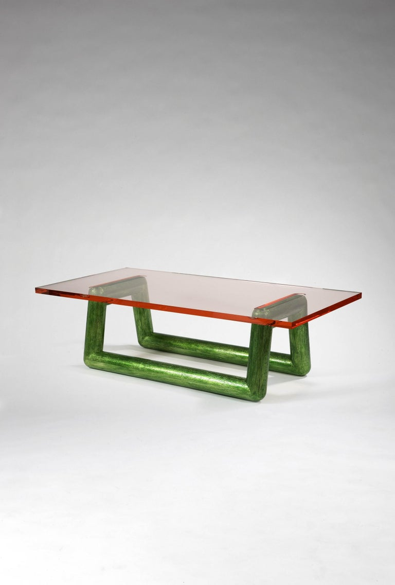 Jelly Coffee Table by Mattia Bonetti, In stock In Excellent Condition For Sale In Paris, FR