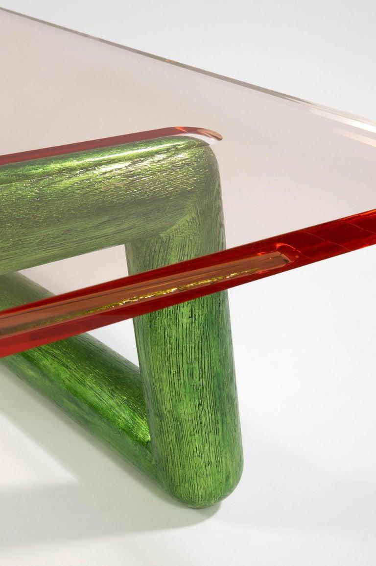 Contemporary Jelly Coffee Table by Mattia Bonetti, In stock For Sale