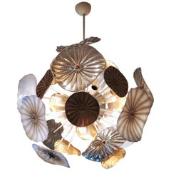 Jellyfih Sputnik Murano Glass Chandelier