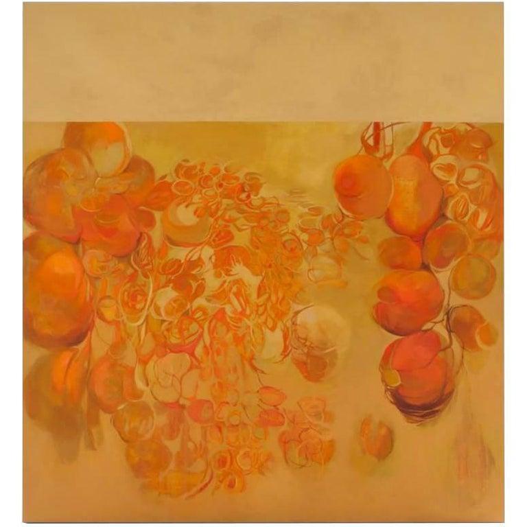 Jen Bradford Abstract Painting - BURST