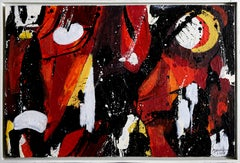 Abstract Composition II, Abstract Expressionist Painting by Jenik
